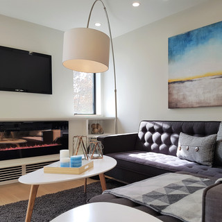 Mt. Pleasant Project - Living Room