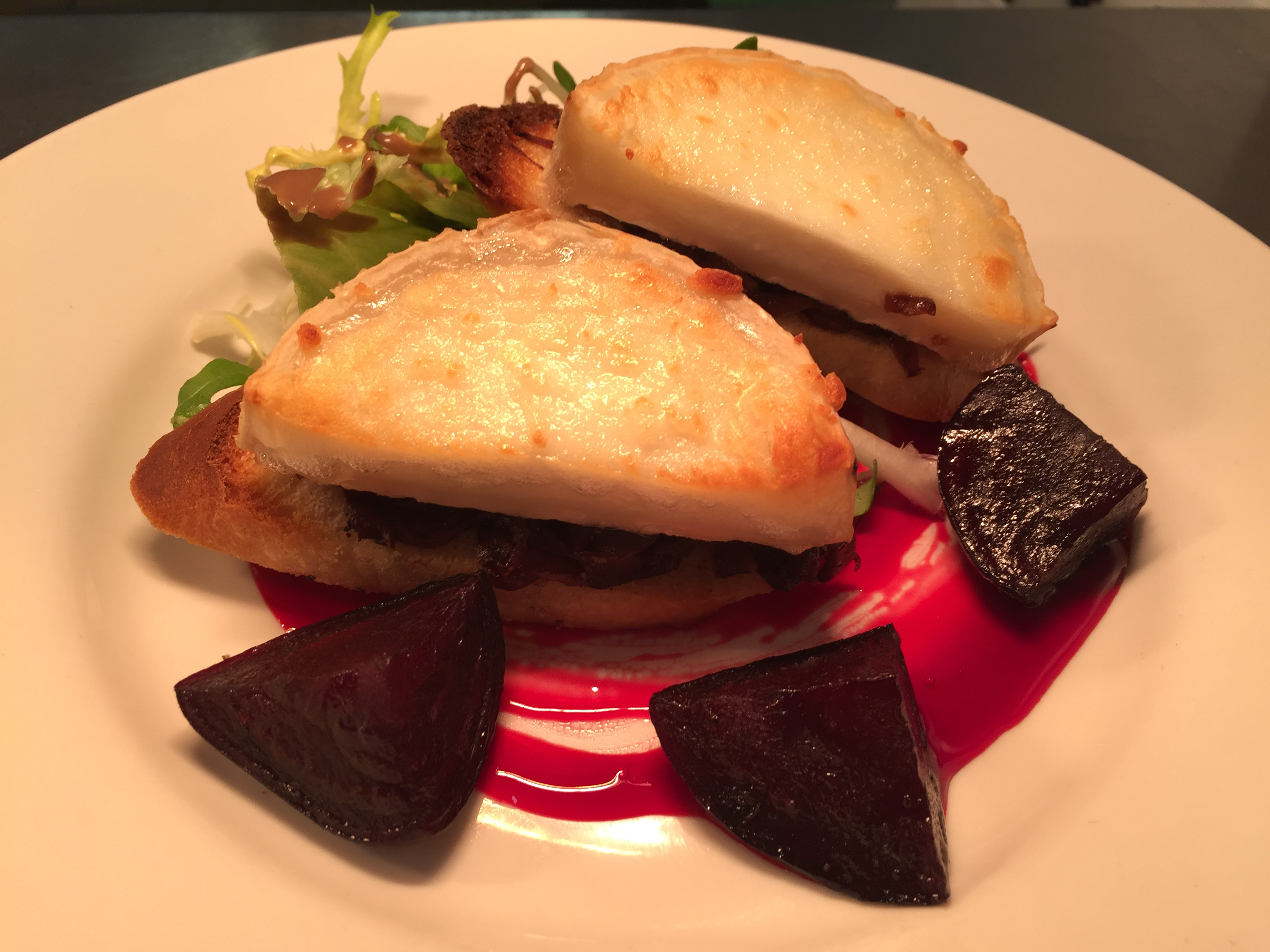 Goats Cheese and Beets