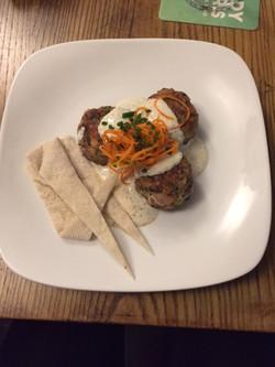 Turkey Meatballs/Sumac Yoghurt