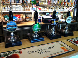 Our Ales & Hand pulled Cider