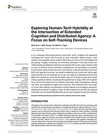 Exploring Human-Tech Hybridity at the In
