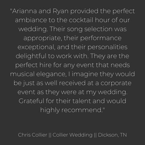 Collier Wedding