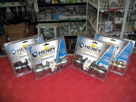 HENRY Door Knobs Clearing Sale