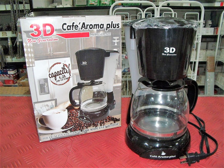 3D Coffee Maker Large