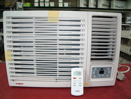 TOSOT 1.00HP Window Type Air Conditioner w/Remote