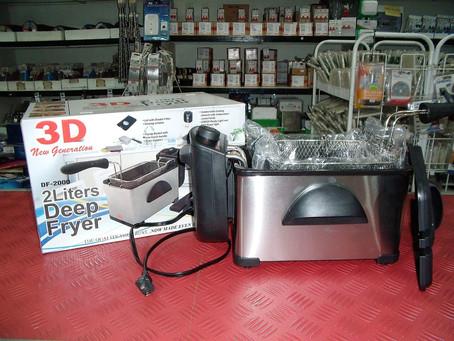 3D Deep Fryer Large