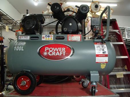 POWER CRAFT Air Compressor 3HP