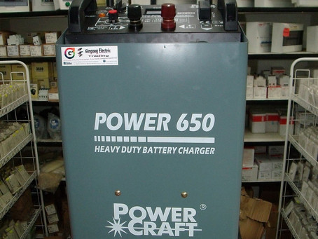 POWER CRAFT Battery Charger 650A
