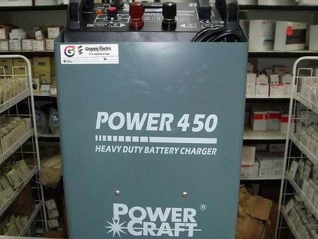 POWER CRAFT Battery Charger 450A
