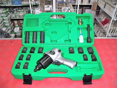 TOPTUL Heavy Duty Air Wrench Set