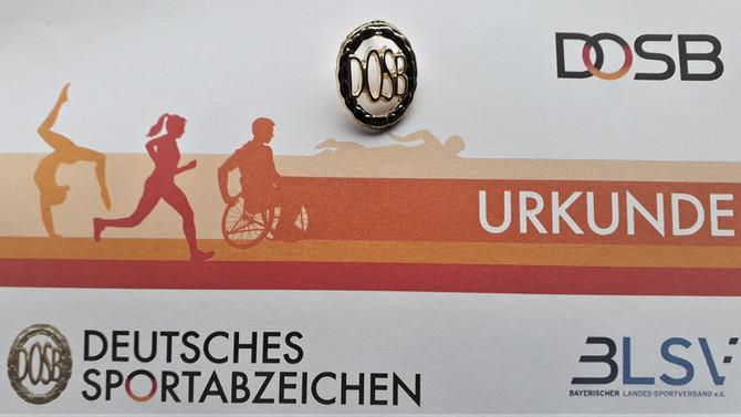 Sportabzeichen 2020 beim TSV Schwabhausen