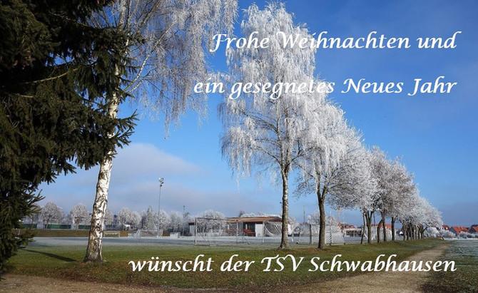 Der TSV wünscht ein schönes Weihnachtsfest und einen guten Start ins neue Jahr!