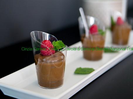 Mousse cioccolato e avocado