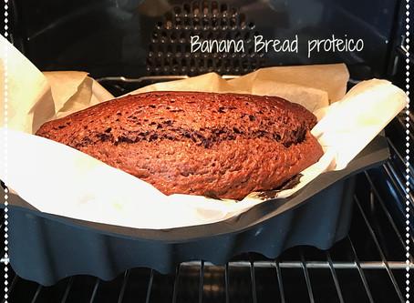 Banana Bread Proteico