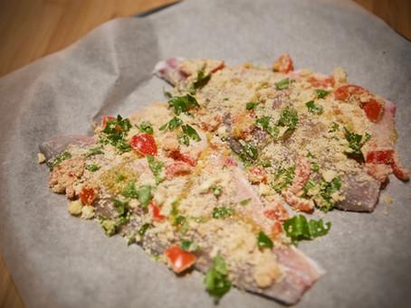 Branzino al forno:ricetta veloce veloce