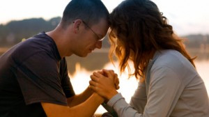 Faithful Marriage Blended Family Praying couple