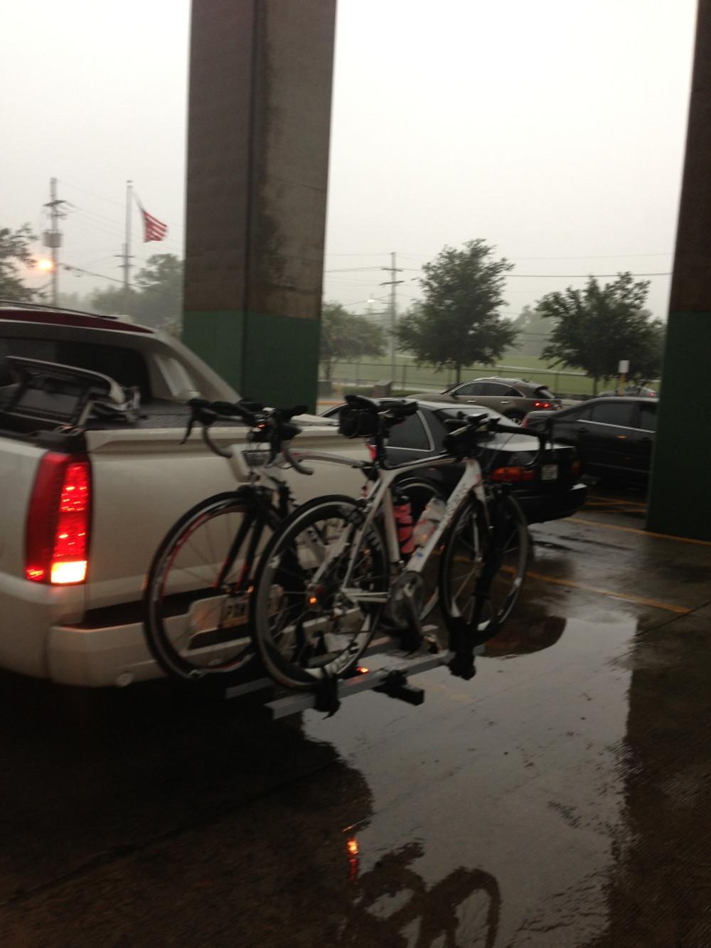 Rainy Day Cycling