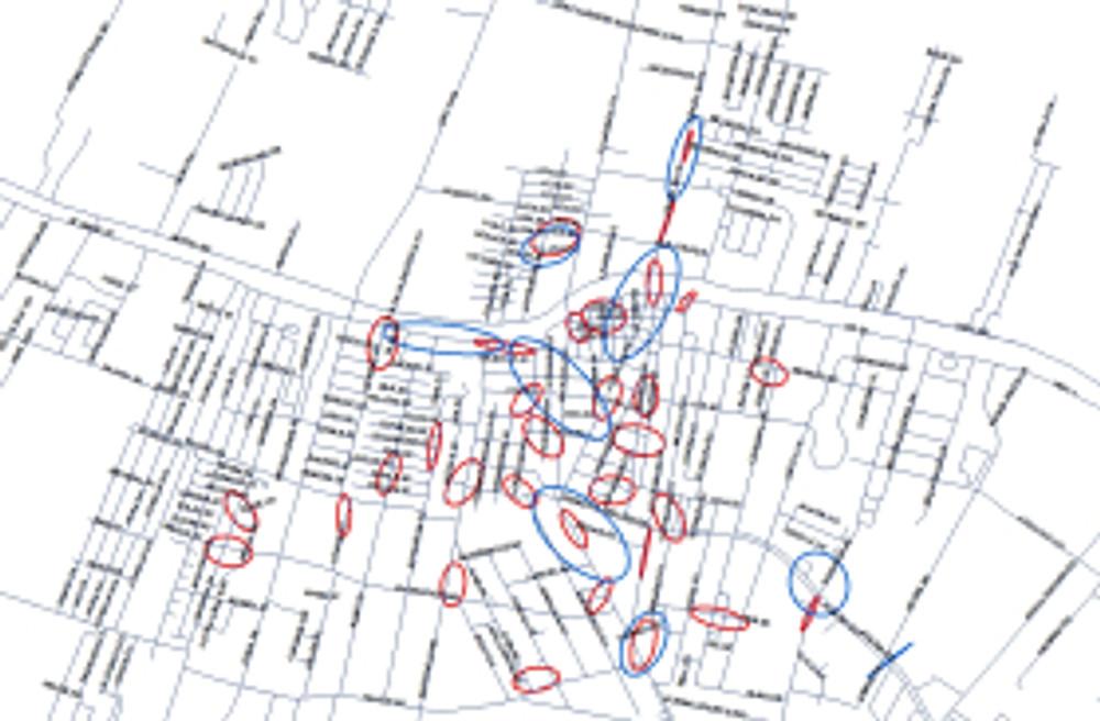 Nearest Neighbor map1