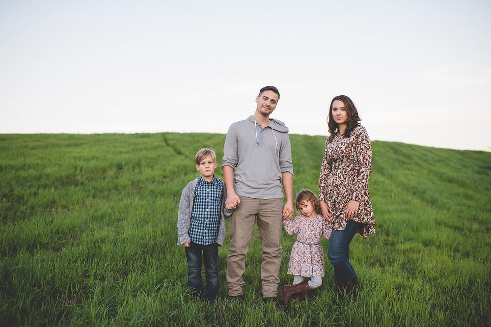 faithful marriage blended family vulture little girl
