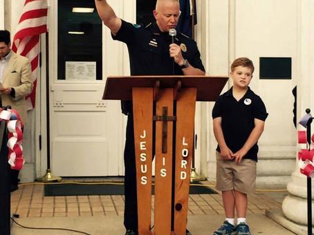The Final Inspection; A Beautiful Policeman's Prayer