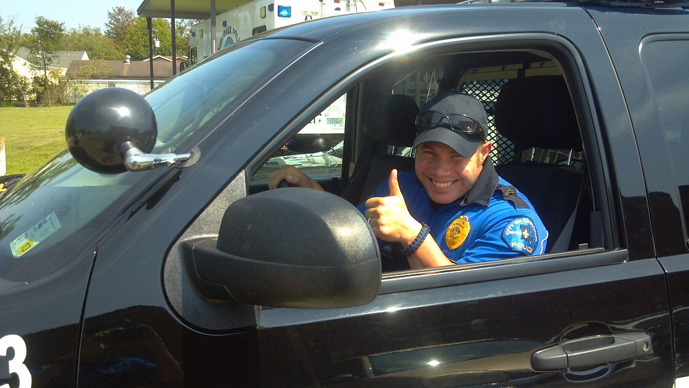 Thumbs Up to positive policing