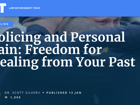 Policing & Personal Pain: Freedom for Healing from Your Past