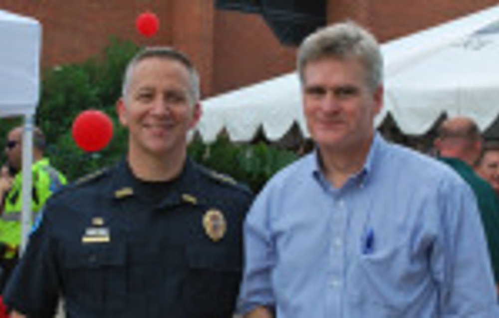 Bill Cassidy and Chief 1