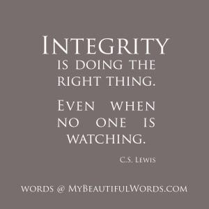 C-S-Lewis-Integrity