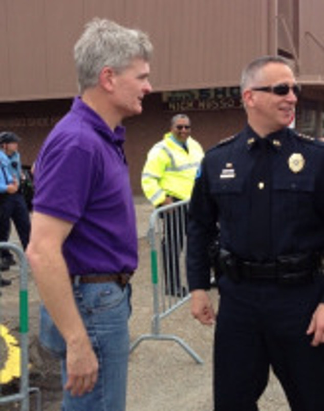 Bill Cassidy and Chief 2