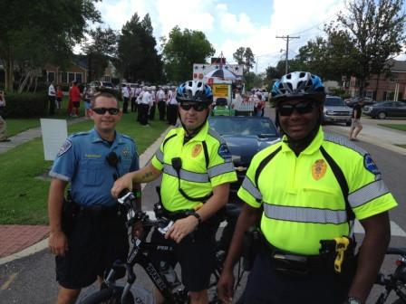 """Sgt """"Pre"""" and TPD Bike Patrol"""