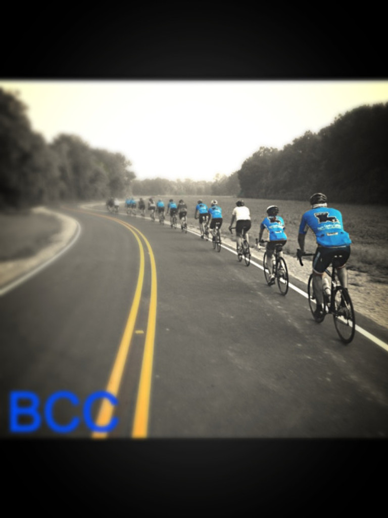 Bayou Country Cyclists Saturday morning ride
