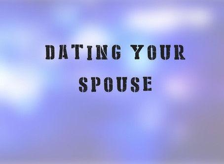 Dating Your Spouse: Blue Marriage