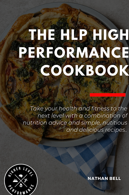 High Performance Recipe E-Book