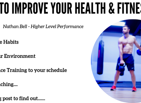 5 WAYS TO IMPROVE YOUR HEALTH & FITNESS IN 2019