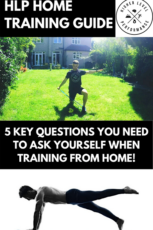 HLP Home Training Guide