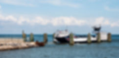Picture of the Mobile Bay Ferry as a fine art print for the walls of your home or office.