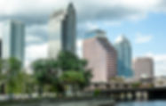 Picture of downtown Tampa, Florida skyline as a fine art print for the wall of your home or office.