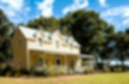 Picture of the John Overstreet House, an 1960's era Florida farmhouse as a fine art print for the wall of your home or office.
