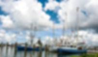 Venie, Louisianna shrimp boats as a fine art print for the walls of your home or office.