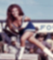 Picture of Raquel Welch in Bob Hope's 1967 Vietnam USO Tour as a fine art print for the wall of your home or office.