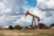 West Texas oil well as a fine art print for the walls of your home or office.