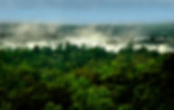 Picture of a part of Iguazu Falls as seen from Argentina as a fine art nature print for the wall of your home or office.