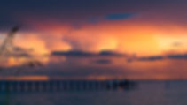 Picture of a sunset over Tampa Bay from the Apollo Beach Nature Preserve in Florida as a fine art nature print for the wall of your home or office.