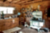 Picture of the kitchen of the John Overstreet House, an 1860's style wood frame farm house, as a fine art print for the wall of your home or office.