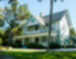 Picture of the Guptil House built in 1901 in Spanish Pointe, Florida as a fine art print for the wall of your home or office.