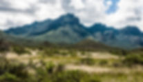 Th Chisos Mountains as a fine art print for the walls of your home or offie.