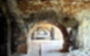 Picture of one of the passageways at Ft. Pickens in Pensacola, Florida as a fine art print for the wall of your home or office.