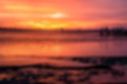 Picture of an sunset over Tampa Bay as seen from Bahia Beach in Ruskin, Florida as a fine art print for the wall of your home or office.