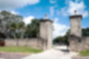 Old City Gates of St. Augustine as a fine art print for the walls of your home or office.