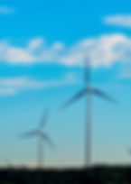 Wind turbine generators as a fine art print for the walls of your home or office.